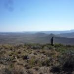 Paesaggio Kaaroo in Sud Africa